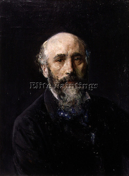IGNACIO PINAZO CAMARLENCH AUTORRETRATO ARTIST PAINTING REPRODUCTION HANDMADE OIL