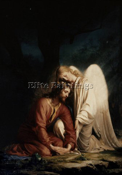 DENMARK CARL HEINRICH BLOCH CHRIST IN GETHSEMANE2 ARTIST PAINTING REPRODUCTION