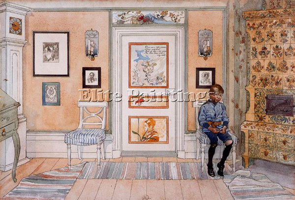 CARL LARSSON LARSS12 ARTIST PAINTING REPRODUCTION HANDMADE OIL CANVAS REPRO WALL