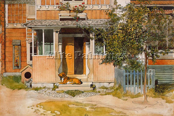 CARL LARSSON LARSS15 ARTIST PAINTING REPRODUCTION HANDMADE OIL CANVAS REPRO WALL