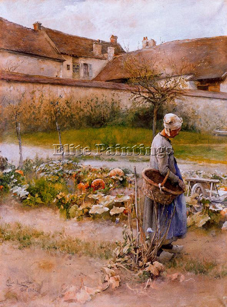 CARL LARSSON LARSS16 ARTIST PAINTING REPRODUCTION HANDMADE OIL CANVAS REPRO WALL