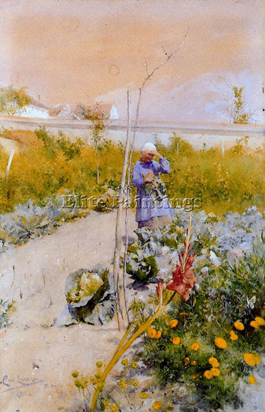 CARL LARSSON LARSS22 ARTIST PAINTING REPRODUCTION HANDMADE OIL CANVAS REPRO WALL