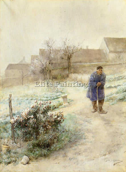 CARL LARSSON NOVEMBER ARTIST PAINTING REPRODUCTION HANDMADE OIL CANVAS REPRO ART