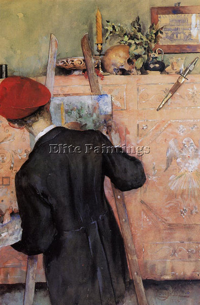 CARL LARSSON THE STILL LIFE PAINTER ARTIST PAINTING REPRODUCTION HANDMADE OIL