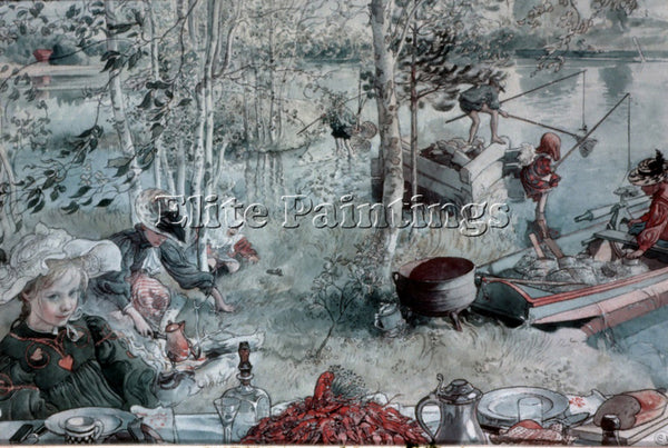 CARL LARSSON LARSS32 ARTIST PAINTING REPRODUCTION HANDMADE OIL CANVAS REPRO WALL