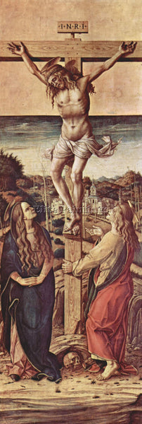 CARLO CRIVELLI CRIV13 ARTIST PAINTING REPRODUCTION HANDMADE OIL CANVAS REPRO ART