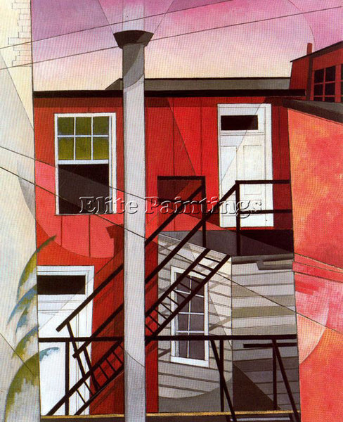 CHARLES DEMUTH DEMU31 ARTIST PAINTING REPRODUCTION HANDMADE OIL CANVAS REPRO ART