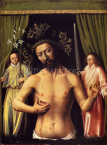 PETRUS CHRISTUS THE MAN OF SORROWS ARTIST PAINTING REPRODUCTION HANDMADE OIL ART