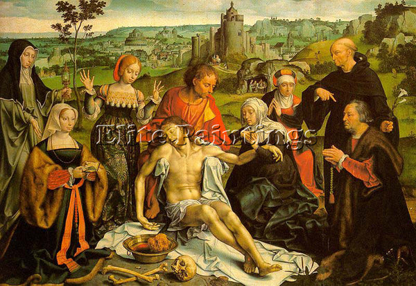 DUTCH CLEVE JOOS VAN DUTCH ACTIVE 1511 1540 CLEVE2 ARTIST PAINTING REPRODUCTION