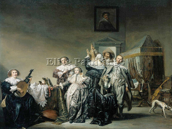 PIETER CODDE CODDE 33COMPANY ARTIST PAINTING REPRODUCTION HANDMADE CANVAS REPRO