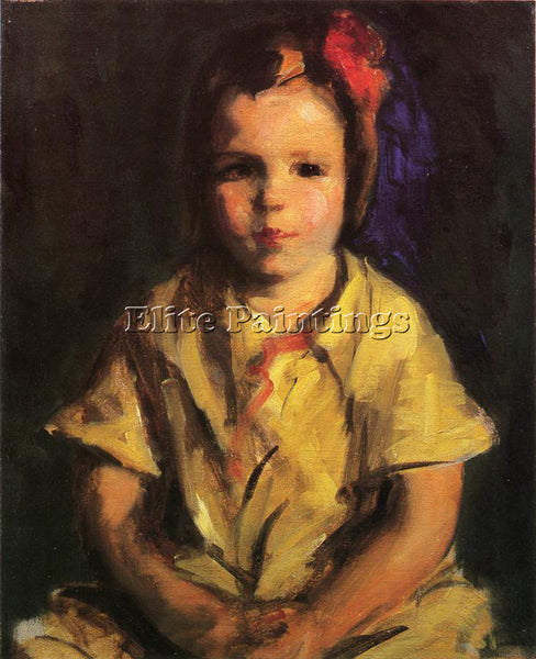 ROBERT HENRI COINTH LOVIS PORTRAIT OF FAITH ARTIST PAINTING HANDMADE OIL CANVAS