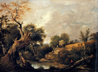 JOHN CONSTABLE THE HARVEST FIELD ARTIST PAINTING REPRODUCTION HANDMADE OIL REPRO