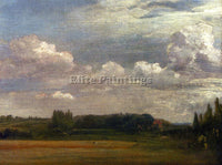 JOHN CONSTABLE VIEW TOWARDS THE RECTORY FROM EAST BERGHOLT HOUSE ARTIST PAINTING