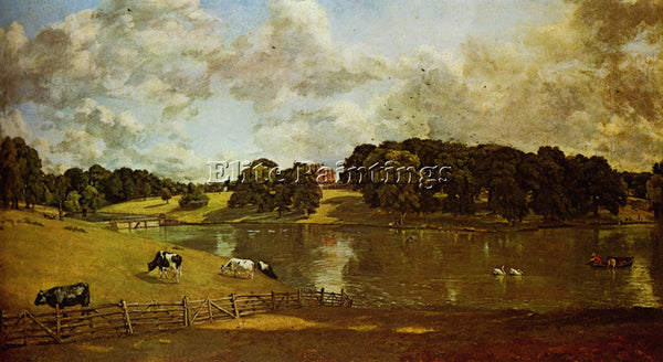 JOHN CONSTABLE WIVENHOE PARK ESSEX ARTIST PAINTING REPRODUCTION HANDMADE OIL ART
