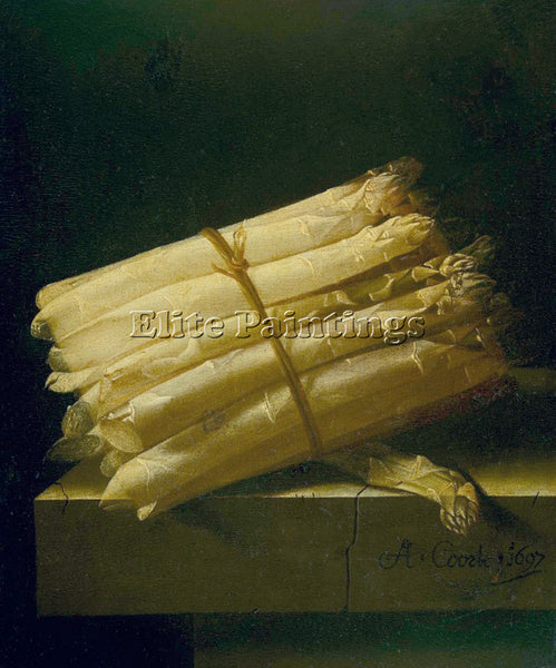 HOLLAND COORTE ASPARAGUS ARTIST PAINTING REPRODUCTION HANDMADE CANVAS REPRO WALL