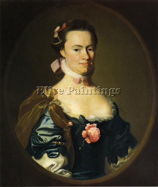 JOHN SINGLETON COPLEY LYDIA LYNDE ARTIST PAINTING REPRODUCTION HANDMADE OIL DECO