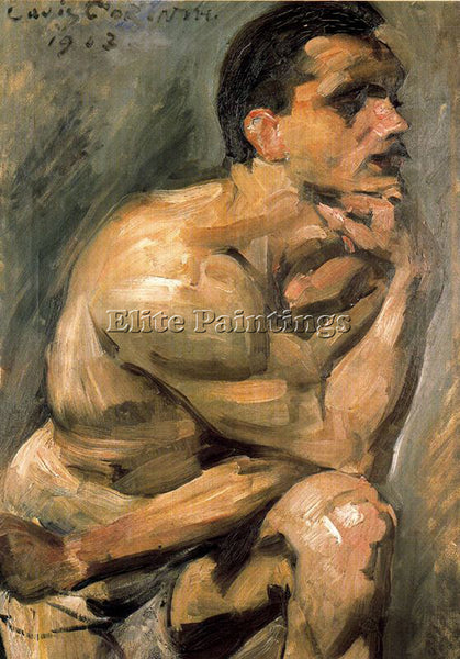 LOVIS CORINTH CORI7 ARTIST PAINTING REPRODUCTION HANDMADE CANVAS REPRO WALL DECO