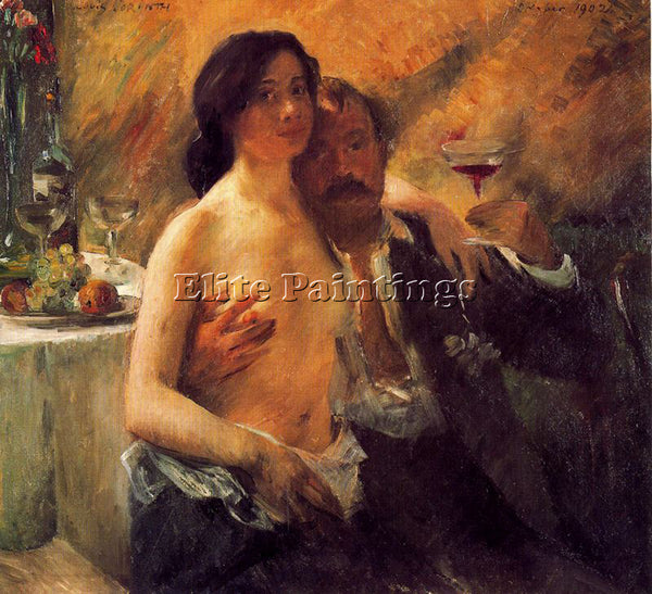 LOVIS CORINTH CORI24 ARTIST PAINTING REPRODUCTION HANDMADE OIL CANVAS REPRO WALL
