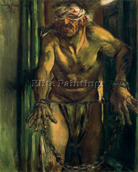 LOVIS CORINTH CORI26 ARTIST PAINTING REPRODUCTION HANDMADE OIL CANVAS REPRO WALL