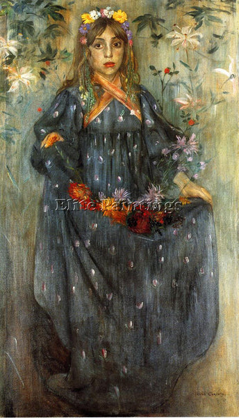 LOVIS CORINTH AUTUMN FLOWER ARTIST PAINTING REPRODUCTION HANDMADE OIL CANVAS ART