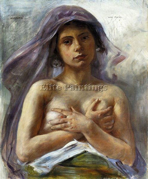 LOVIS CORINTH INNOCENTIA ARTIST PAINTING REPRODUCTION HANDMADE CANVAS REPRO WALL