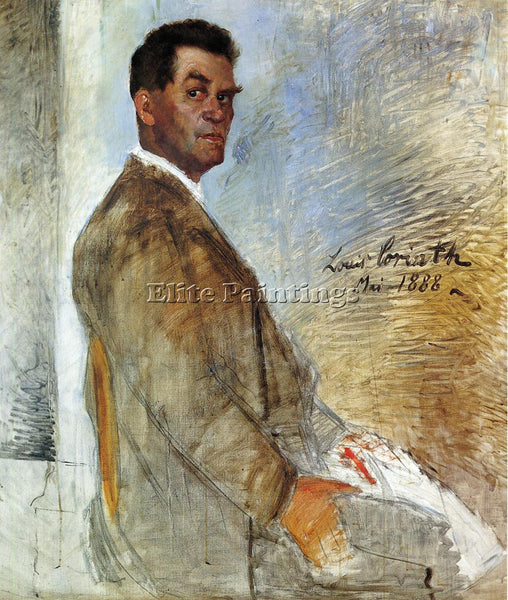 LOVIS CORINTH PORTRAIT OF FRANZ HEINRICH UNFINISHED ARTIST PAINTING REPRODUCTION