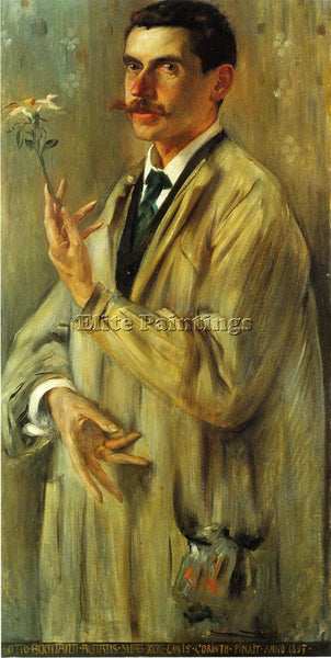 LOVIS CORINTH PORTRAIT OF THE PAINTER OTTO ECKMANN ARTIST PAINTING REPRODUCTION