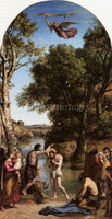 JEAN-BAPTISTE-CAMILLE COROT THE BAPTISM OF CHRIST ARTIST PAINTING REPRODUCTION