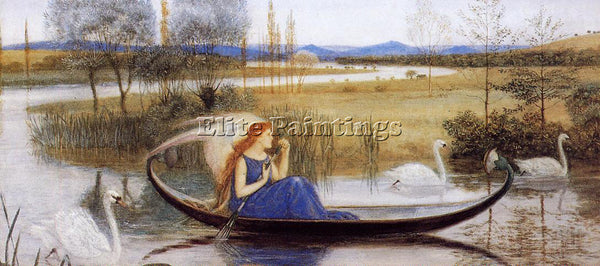 BRITISH CRANE WALTER MY SOUL IS AN ENCHANTED BOAT ARTIST PAINTING REPRODUCTION