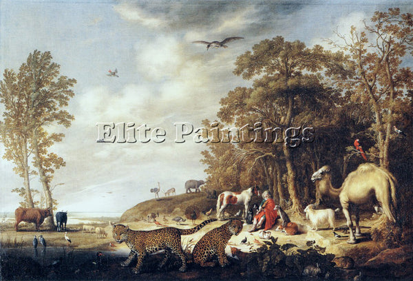 AELBERT CUYP 40ORPHEUS ARTIST PAINTING REPRODUCTION HANDMADE CANVAS REPRO WALL