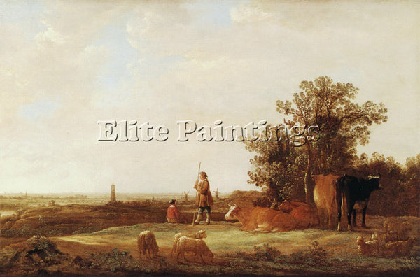 AELBERT CUYP 44PLAIN ARTIST PAINTING REPRODUCTION HANDMADE OIL CANVAS REPRO WALL