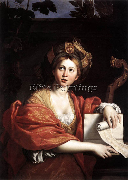 DOMENICHINO THE CUMAEAN SIBYL ARTIST PAINTING REPRODUCTION HANDMADE CANVAS REPRO