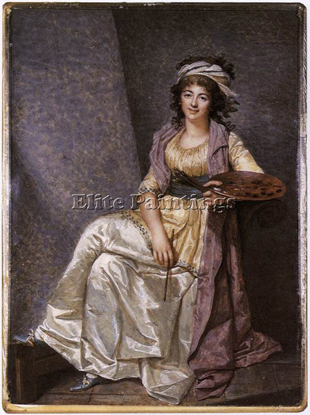 FRENCH DUMONT FRANCOIS MARGUERITE GERARD ARTIST PAINTING REPRODUCTION HANDMADE