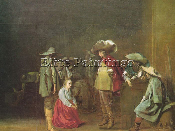 DENMARK DUYSTER WILLEM CORNELISZ THE MARAUDERS ARTIST PAINTING REPRODUCTION OIL