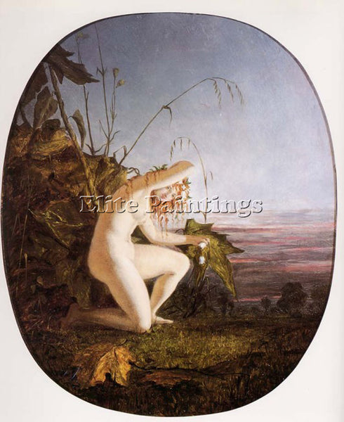 RICHARD DADD EVENING ARTIST PAINTING REPRODUCTION HANDMADE OIL CANVAS REPRO WALL