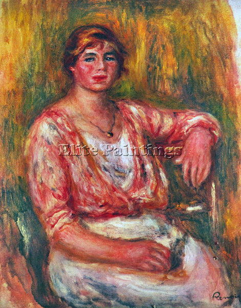 RENOIR DAIRYMAID ARTIST PAINTING REPRODUCTION HANDMADE OIL CANVAS REPRO WALL ART