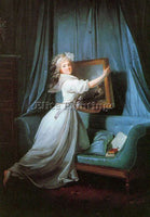 FRENCH DANLOUX HENRI PIERRE FRENCH 1753 1809 ARTIST PAINTING HANDMADE OIL CANVAS