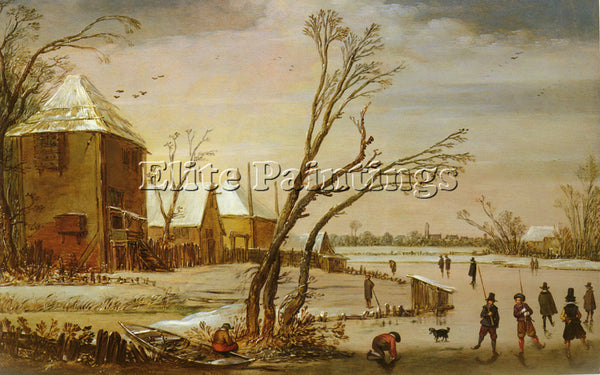 HOLLAND DE VELDE ESAIAS VA ARTIST PAINTING REPRODUCTION HANDMADE OIL CANVAS DECO