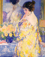 AMERICAN DESCH FRANK H AMERICAN 1873 1934 ARTIST PAINTING REPRODUCTION HANDMADE - Oil Paintings Gallery Repro