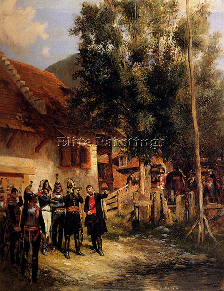 JEAN BAPTISTE EDOUARD DETAILLE  THE ORIENTATION ARTIST PAINTING REPRODUCTION OIL