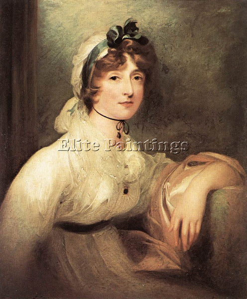 SIR THOMAS LAWRENCE DIANA STURT LADY MILNER ARTIST PAINTING HANDMADE OIL CANVAS