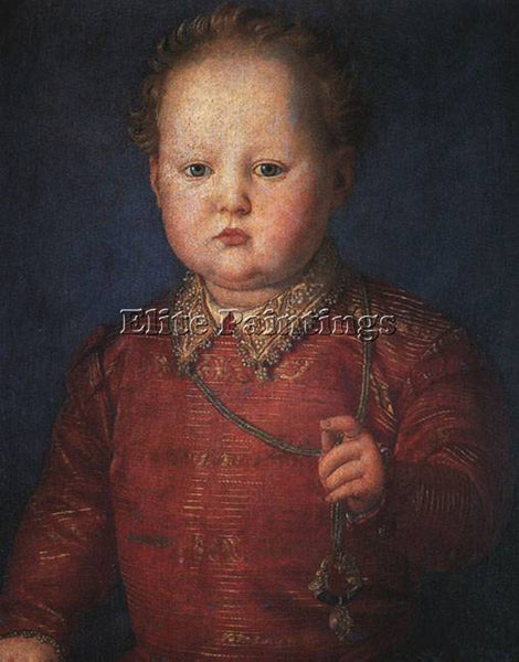 AGNOLO BRONZINO DON GARCIA DE MEDICI ARTIST PAINTING REPRODUCTION HANDMADE OIL