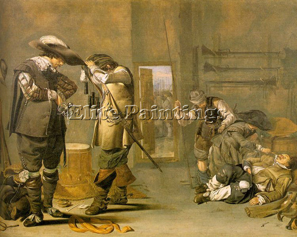 DUTCH DUCK JACOB DUTCH 1600 1667 ARTIST PAINTING REPRODUCTION HANDMADE OIL REPRO