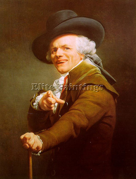 FRENCH DUCREUX JOSEPH FRENCH 1735 1802 ARTIST PAINTING REPRODUCTION HANDMADE OIL