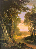 AMERICAN DURAND ASHER BROWN AMERICAN 1796 1886 ARTIST PAINTING REPRODUCTION OIL