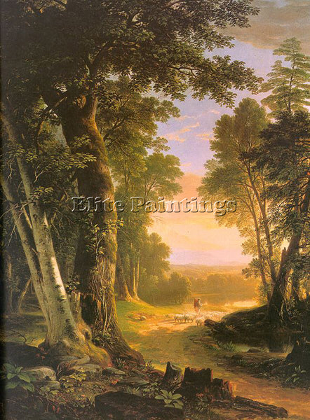 AMERICAN DURAND ASHER BROWN AMERICAN 1796 1886 ARTIST PAINTING REPRODUCTION OIL - Oil Paintings Gallery Repro