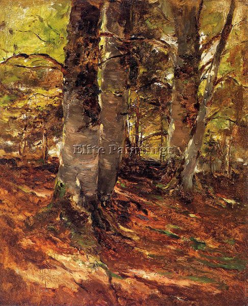 FRANK DUVENECK BEACHWOODS AT POLLING ARTIST PAINTING REPRODUCTION HANDMADE OIL