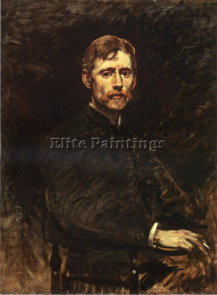 FRANK DUVENECK PORTRAIT OF EMIL CARLSON ARTIST PAINTING REPRODUCTION HANDMADE