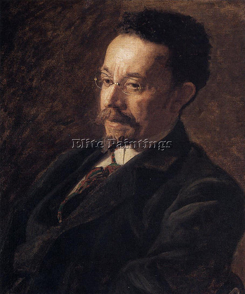 THOMAS EAKINS PORTRAIT OF HENRY OSSAWA TANNER ARTIST PAINTING REPRODUCTION OIL