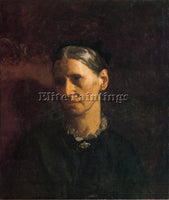 THOMAS EAKINS PORTRAIT OF MRS JAMES W CROWELL ARTIST PAINTING REPRODUCTION OIL